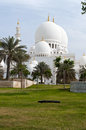 Mosque architecture in Emirates Stock Image