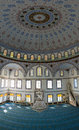 Mosque in avsallar turkey june the interior of the main the village of anatolian coast Royalty Free Stock Image