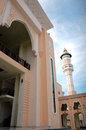 Mosque baitul izzah in tarakan indonesia Royalty Free Stock Images