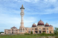 Mosque baitul izzah tarakan indonesia Royalty Free Stock Photos