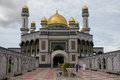Mosque brunei dar salam worshipers heading to prayer at one of the major mosques in Stock Photography