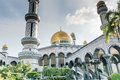 Mosque in Brunei Royalty Free Stock Photo