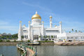 Mosque in BSB, Brunei Royalty Free Stock Photo