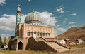Mosque built by craftsmen from the Middle East at sunny day with blue sky Royalty Free Stock Photo