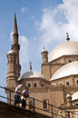 Mosque in cairo religious inside the egypt Stock Images