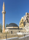 Mosque in cappadocia a small village Royalty Free Stock Images