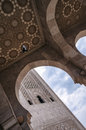 Mosque - Casablanca, Morocco Royalty Free Stock Photo