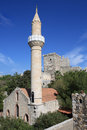 Mosque in the Castle of St Peter, Bodrum, Turkey Royalty Free Stock Photo