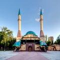 Mosque in Donetsk, Ukraine. Royalty Free Stock Photo
