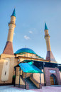 Mosque in donetsk ukraine beautiful sunset Stock Photo
