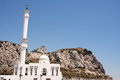 Mosque of europa point in gibraltar uk Royalty Free Stock Photos