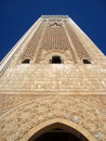 Mosque of Hassan II Stock Photo