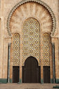 Mosque Hassan II in Casablanca Stock Photo