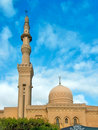 Mosque with minaret Stock Photos