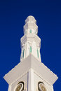 Mosque minaret in astana kazakhstan Royalty Free Stock Photography