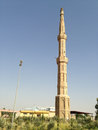 Mosque minaret in hawler city Royalty Free Stock Photos
