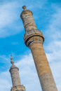 Mosque minaret istanbul typical architecture in Stock Images