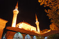 Mosque minarets of a in istanbul turkey Royalty Free Stock Photography