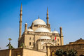 Mosque of Mohamed Ali, Cairo, Egypt Royalty Free Stock Photo