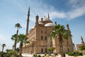 Mosque of muhammad ali the saladin citadel the alabaster cairo egypt Royalty Free Stock Photo