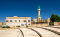 Mosque near the Crusaders Castle of Karak Royalty Free Stock Photo