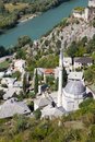 Mosque in Pocitelj Near Mostar, Bosnia Stock Images