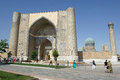 Mosque samarkand uzbekistan may bibi xanom on may in central asia the is one of the tourist Stock Photos