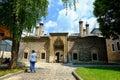 Mosque in sarajevo gazi husrev beg bosnia and herzegovina Stock Photography