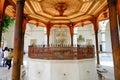 Mosque in sarajevo gazi husrev beg bosnia and herzegovina Royalty Free Stock Images