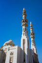Mosque in Sharjah City, United Arab Emirates Royalty Free Stock Photo