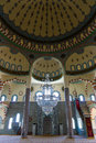 Mosque in side turkey june the interior of the main the town of anatolian coast Royalty Free Stock Photos