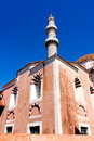 Mosque of suleiman in rhodes sultan the magnificent greece Stock Photo