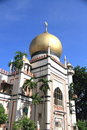 Mosque of Sultan Royalty Free Stock Photo