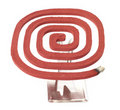 Mosquito coil on a strand Stock Photo