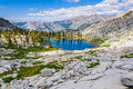 Mosquito Lakes, Sequoia National Park Royalty Free Stock Image
