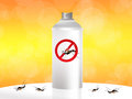 Mosquito spray nice illustration of a Stock Image