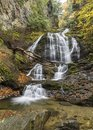 Moss Glen Falls and Gorge Royalty Free Stock Photo