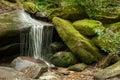 Mossy Rocks Waterfall