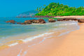 The most beautiful beach in tropics Royalty Free Stock Photos