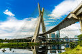 The most famous bridge in the city of sao paulo brazil Stock Image