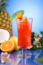 Most popular cocktails series - Hurricane Royalty Free Stock Photos