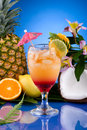 Most popular cocktails series - Mai Tai Royalty Free Stock Images