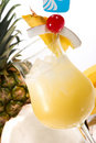 Most popular cocktails series - Pina Colada Royalty Free Stock Photos