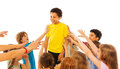 The most popular kid in class Royalty Free Stock Photo