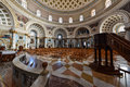 Mosta dome church interior malta the of the assumption of our lady the it is the ninth largest unsupported in the world and the Royalty Free Stock Photography