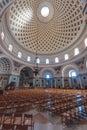 The mosta dome malta april rotunda of or rotunda of st marija assunta in malta it is fourth largest Royalty Free Stock Images
