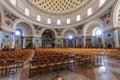 The mosta dome malta april rotunda of or rotunda of st marija assunta in malta it is fourth largest Royalty Free Stock Photo