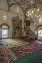 Mostar bosnia and herzegovina europe karadoz begova mosque internal view of in Stock Photos