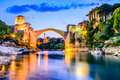 Mostar, Bosnia and Herzegovina Royalty Free Stock Photo