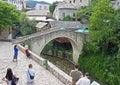 Small Mostar Bridge Royalty Free Stock Photo